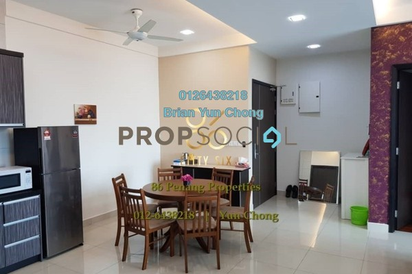 For Sale Condominium at The Cantonment, Pulau Tikus Freehold Fully Furnished 3R/2B 1.35m