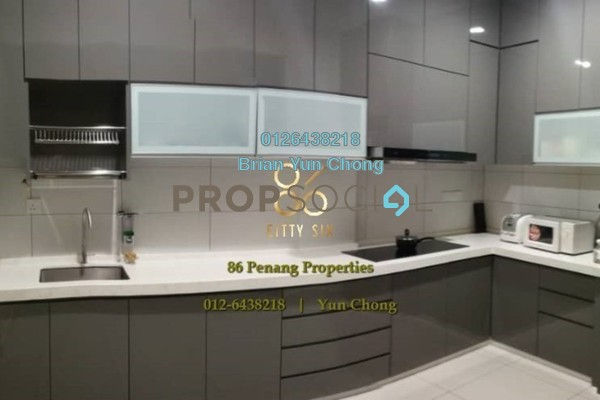Condominium For Sale in Aspen Residence, Jelutong Freehold Fully Furnished 3R/2B 780k