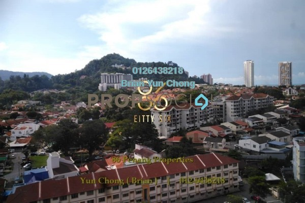 Condominium For Sale in Fettes Residences, Tanjung Tokong Freehold Fully Furnished 3R/2B 1.3m