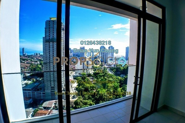 Condominium For Sale in Mont Residence, Tanjung Tokong Freehold Unfurnished 3R/2B 910k