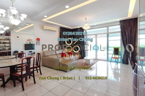 For Sale Condominium at The Brezza, Tanjung Tokong Freehold Fully Furnished 3R/2B 750k