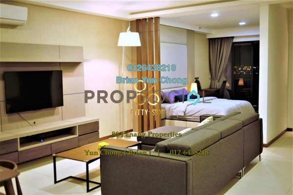 For Sale Condominium at The Landmark, Tanjung Tokong Freehold Fully Furnished 1R/1B 990k
