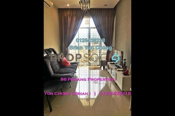 For Sale Condominium at Boulevard Condominium, Air Itam Freehold Fully Furnished 3R/2B 480k