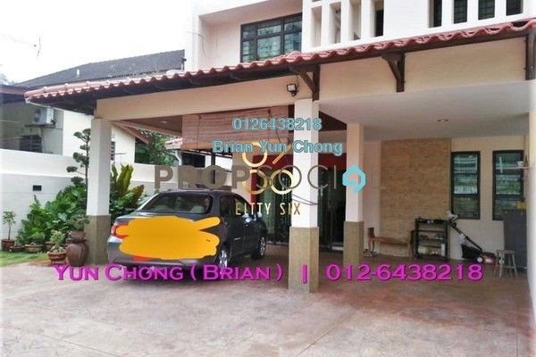 Semi-Detached For Sale in Minden Heights, Gelugor Freehold Semi Furnished 5R/3B 2m