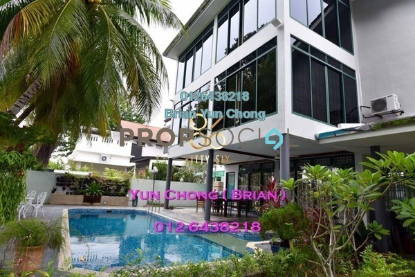 Bungalow For Sale in Minden Heights, Gelugor Freehold Fully Furnished 5R/6B 4.1m