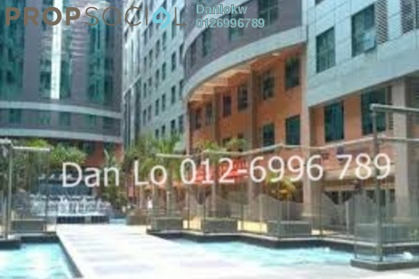 Office For Sale in Megan Avenue 1, KLCC Freehold Semi Furnished 2R/1B 1.41m