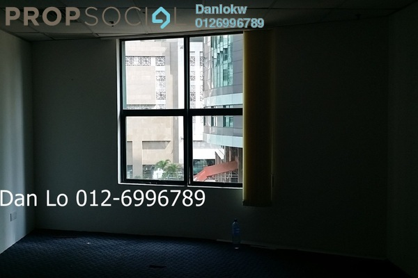 Office For Sale in Megan Avenue 1, KLCC Freehold Semi Furnished 3R/2B 1.21m