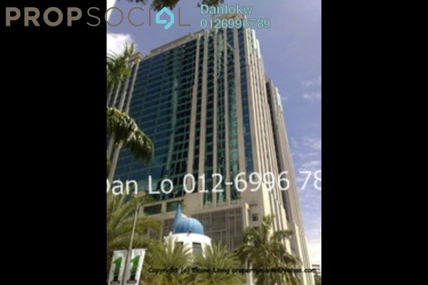 For Rent Office at GTower, KLCC Freehold Semi Furnished 1R/1B 10.8k