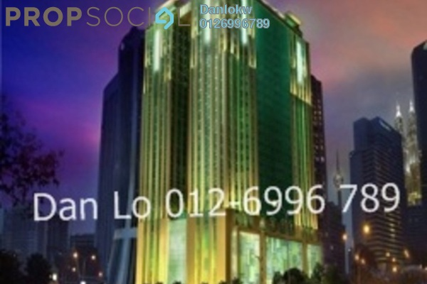 For Rent Office at GTower, KLCC Freehold Semi Furnished 1R/1B 42.5k
