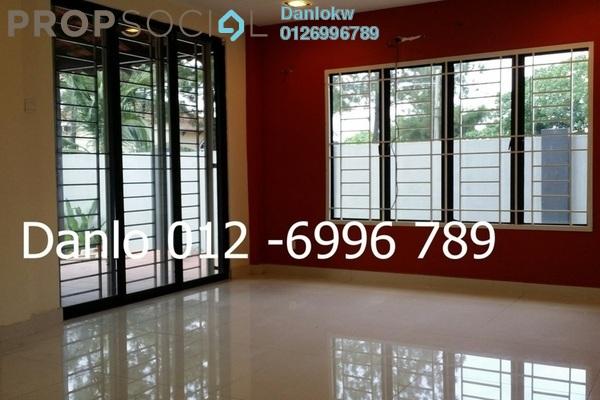 Bungalow For Rent in Bukit Pantai, Bangsar Freehold Semi Furnished 5R/5B 17k
