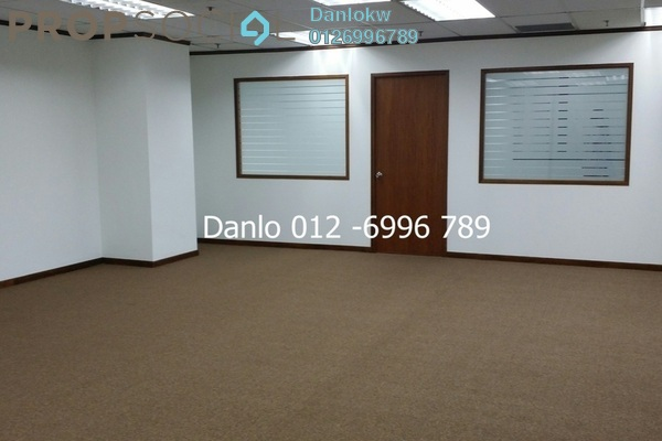 For Rent Office at Megan Avenue 1, KLCC Freehold Semi Furnished 5R/1B 9k
