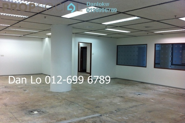 For Rent Office at Wisma Golden Eagle Realty, KLCC Freehold Semi Furnished 3R/1B 9k