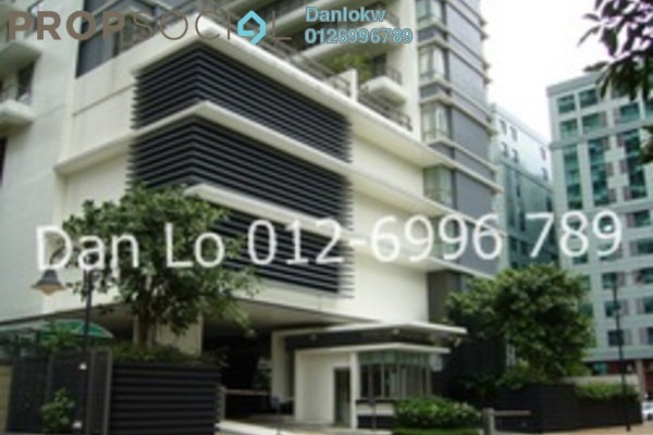 Condominium For Rent in 2 Hampshire, KLCC Freehold Semi Furnished 3R/5B 8.5k