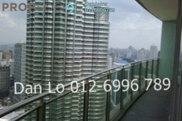 For Rent Condominium at K Residence, KLCC Freehold Fully Furnished 3R/3B 11k