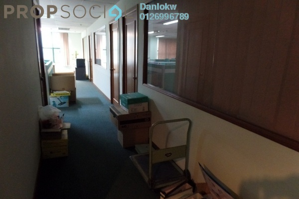 Office For Sale in Megan Avenue 1, KLCC Freehold Semi Furnished 6R/2B 2.92m