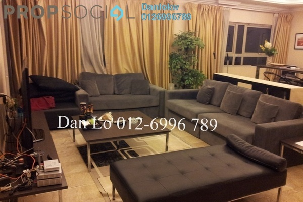 For Rent Condominium at Crown Regency, KLCC Freehold Fully Furnished 3R/3B 5.5k