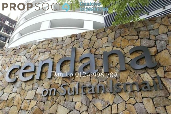 Condominium For Sale in Cendana, KLCC Freehold Fully Furnished 3R/4B 1.65m