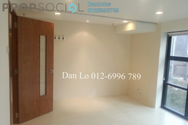 Office For Sale in Plaza 138, KLCC Freehold Semi Furnished 1R/1B 560k