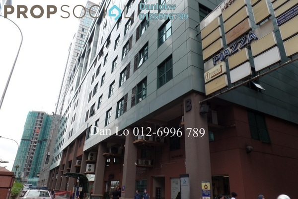 Office For Sale in Megan Avenue 1, KLCC Freehold Semi Furnished 3R/2B 880k