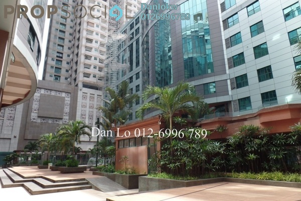 Office For Sale in Megan Avenue 1, KLCC Freehold Semi Furnished 3R/2B 950k