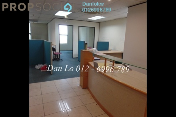 Office For Sale in Megan Avenue 1, KLCC Freehold Semi Furnished 2R/2B 1.46m