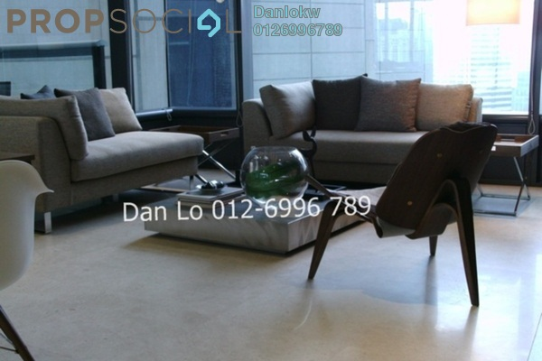 Condominium For Sale in The Troika, KLCC Freehold Fully Furnished 1R/2B 1.89m