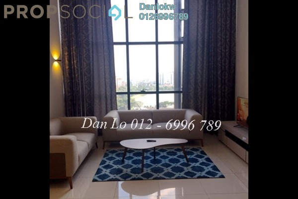 Duplex For Rent in M City, Ampang Hilir Freehold Fully Furnished 1R/2B 3.5k