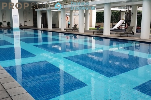 Condominium For Sale in Hampshire Park, KLCC Freehold Fully Furnished 3R/2B 1.6m
