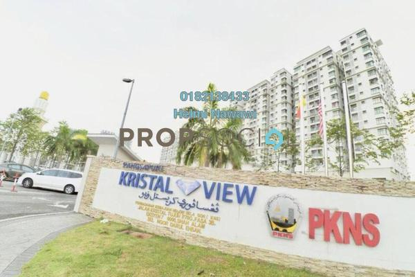 Condominium For Sale in Kristal View, Shah Alam Freehold Unfurnished 4R/2B 465k