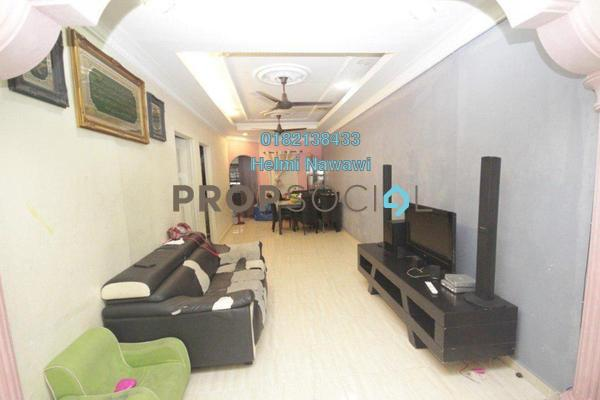 Terrace For Sale in Taman Sri Nanding, Hulu Langat Freehold Semi Furnished 3R/2B 320k