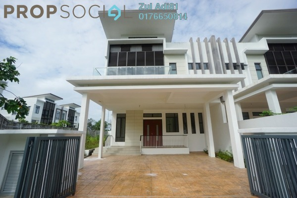 Semi-Detached For Sale in Kemensah Mewah, Kemensah Freehold Unfurnished 5R/5B 2.6m