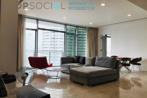 Serviced Residence For Sale in K Residence, KLCC Freehold Fully Furnished 2R/3B 2.48m