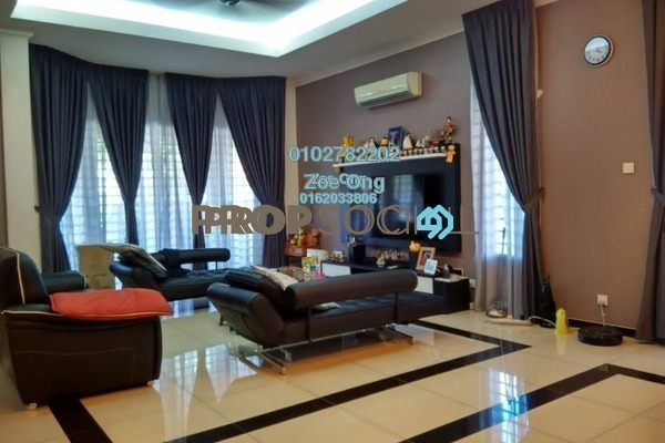 Semi-Detached For Sale in Section 8, Kota Damansara Freehold Semi Furnished 5R/4B 1.98m