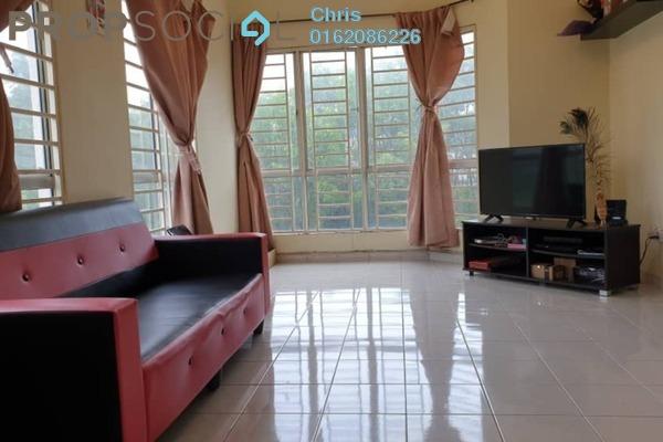 Apartment For Rent in Merak Apartment, Bandar Kinrara Freehold Semi Furnished 3R/2B 1.1k