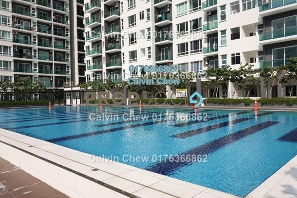 Serviced Residence For Sale in D'Carlton Seaview Residences, Masai Freehold Unfurnished 2R/2B 224k
