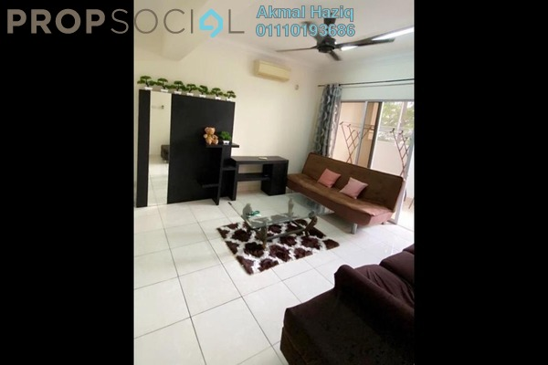 Apartment For Rent in Aseana Puteri, Bandar Puteri Puchong Freehold Fully Furnished 3R/2B 1.7k