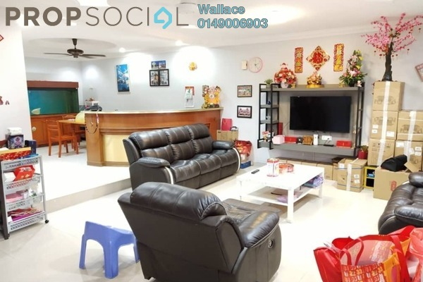 Terrace For Sale in Taman Desa Tebrau, Tebrau Freehold Semi Furnished 4R/3B 618k