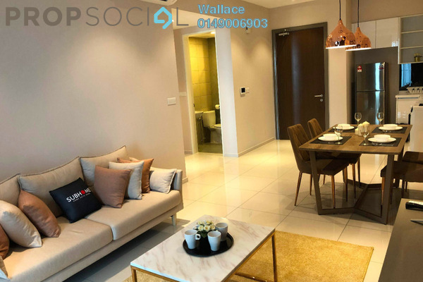 Condominium For Rent in Elysia Park Residence, Medini Freehold Fully Furnished 2R/2B 1.65k