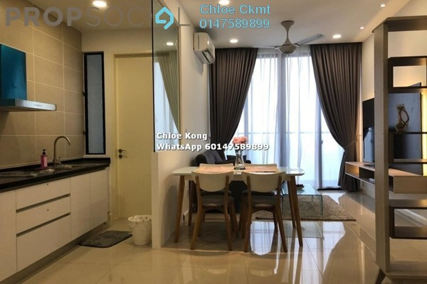 Condominium For Rent in D'Pristine, Medini Freehold Fully Furnished 2R/1B 1.8k