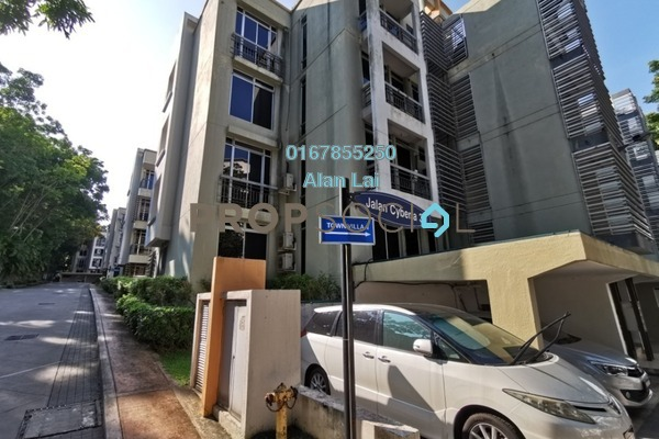 Townhouse For Sale in Cyberia SmartHomes, Cyberjaya Freehold Semi Furnished 4R/3B 318k
