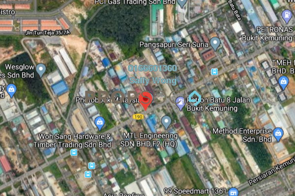 For Sale Land at Seksyen 25, Shah Alam Freehold Unfurnished 0R/0B 16.7m