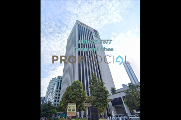 For Rent Office at Plaza OSK, KLCC Freehold Fully Furnished 0R/0B 13k