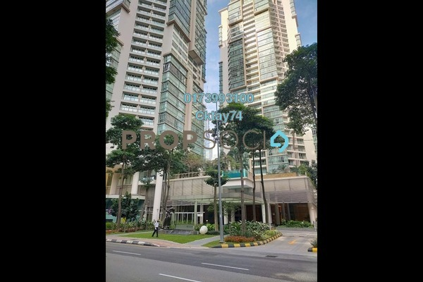 For Rent Condominium at Marc Service Residence, KLCC Freehold Fully Furnished 3R/2B 5.8k