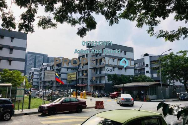 For Rent Apartment at Baiduri Apartment, Desa Pandan Freehold Semi Furnished 3R/2B 1.4k