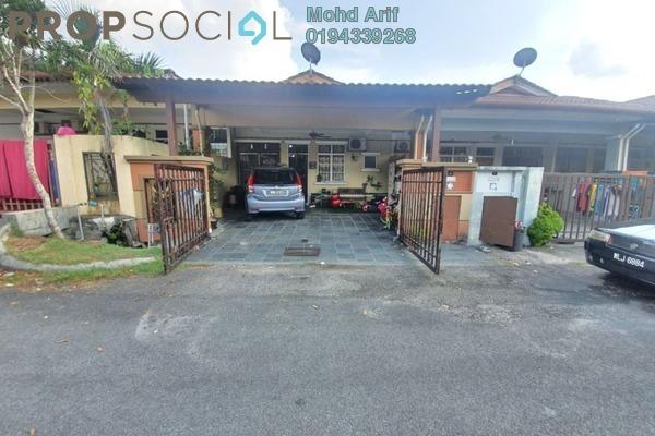 Terrace For Sale in Taman Seri Budiman, Bandar Mahkota Cheras Freehold Semi Furnished 3R/2B 450k