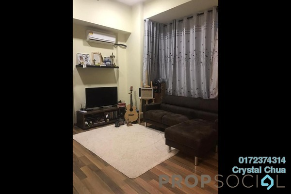 Apartment For Sale in Park View, KLCC Freehold Fully Furnished 1R/1B 650k
