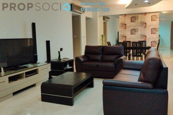 For Rent Condominium at Kiaraville, Mont Kiara Freehold Fully Furnished 3R/3B 7k