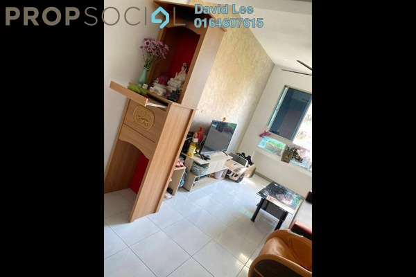 Apartment For Sale in Harmony View, Jelutong Freehold Semi Furnished 3R/2B 375k