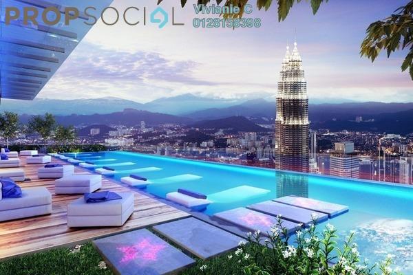 Condominium For Sale in Star Residences, Kuala Lumpur Freehold Semi Furnished 2R/1B 1.25m