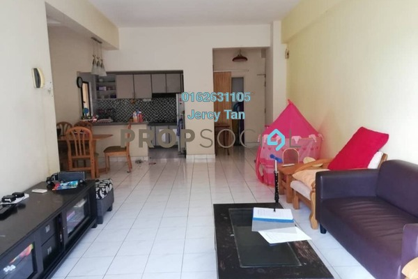 Condominium For Sale in Desa Villa, Taman Desa Freehold Semi Furnished 3R/2B 600k